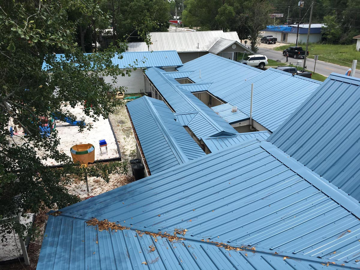Leon County Florida metal roof